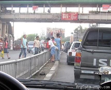 Este puente no es peatonal
