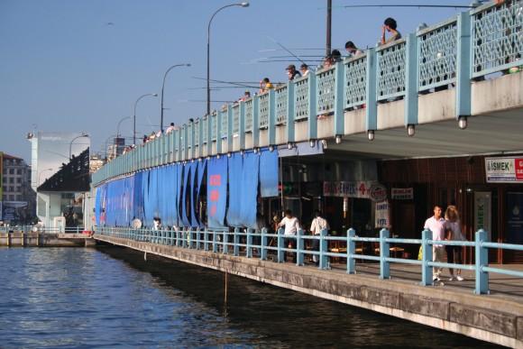 Puente Gálata, Estambúl. © mariosp, vía Flickr