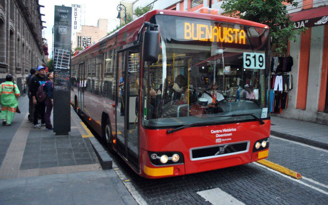 Metrobús de la Ciudad de México (Foto: es.wikipedia.org)