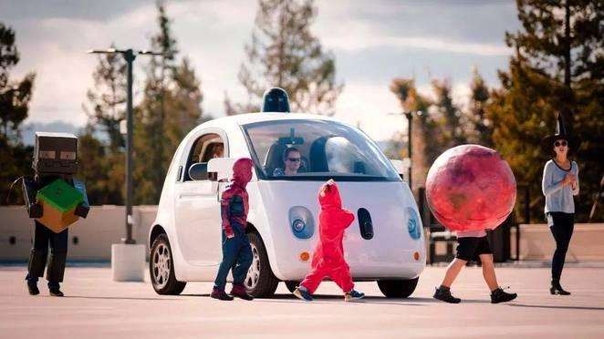 testing google car