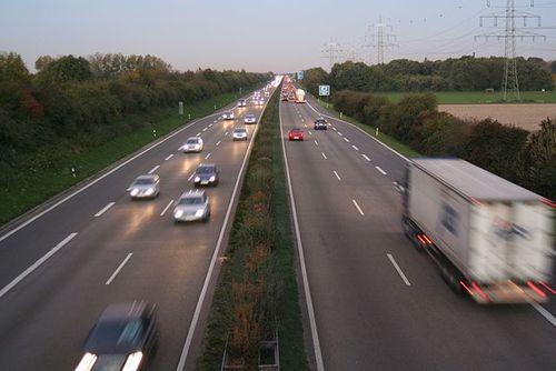 The Autobahn (Photo by Rolf van Melis)