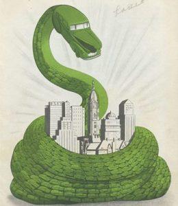 La boa constrictor-coche