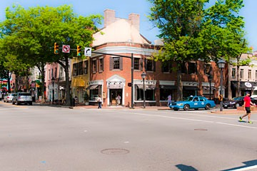 Alexandria, Virginia streetscape