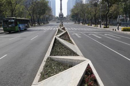 Paseo de la Reforma. (Cuartoscuro)