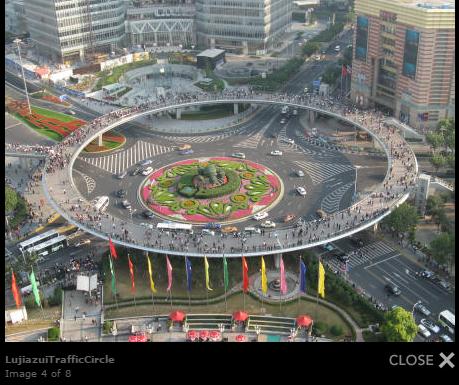 china-lujiazui-shanghai-traffic-circle
