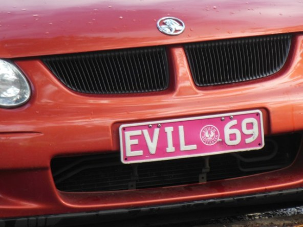 This car might be evil, though. Credit: Michael Coghlan, Flickr