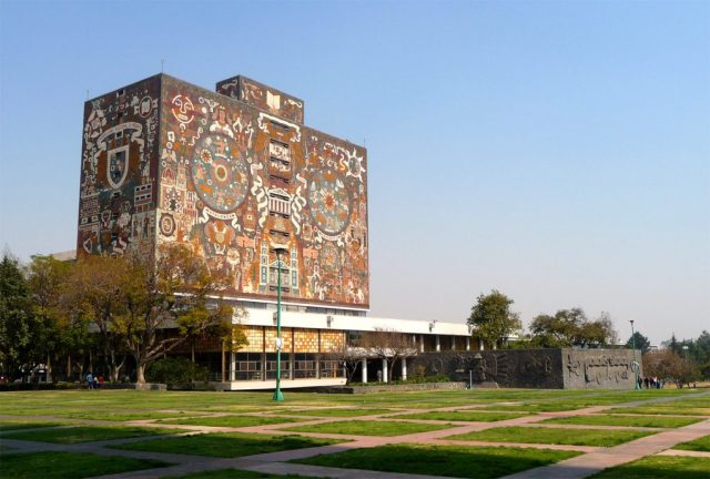 Biblioteca Central, UNAM, Mexico City