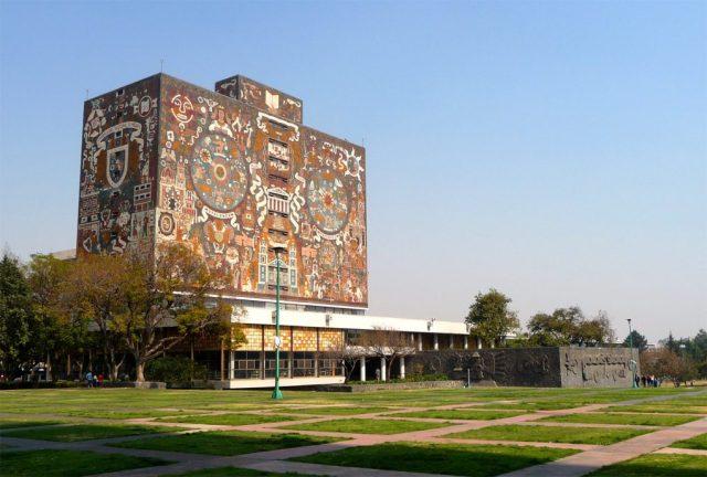 Biblioteca Central, UNAM, Mexico City