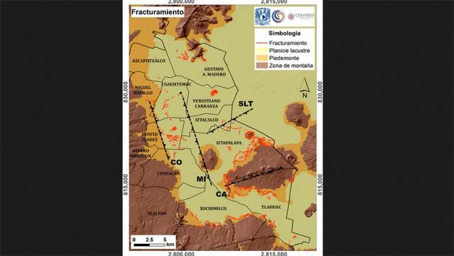 Mapea UNAM fracturas en el suelo de la CDMX   La Crónica de Hoy
