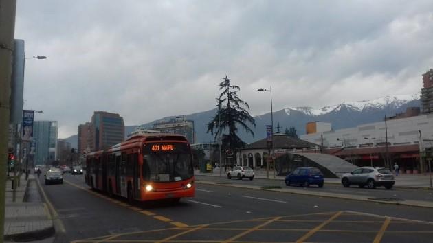 Urbanismo correcto en Santiago de Chile.